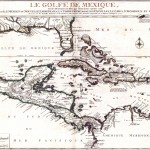 Carte historique Le golfe de Mexique