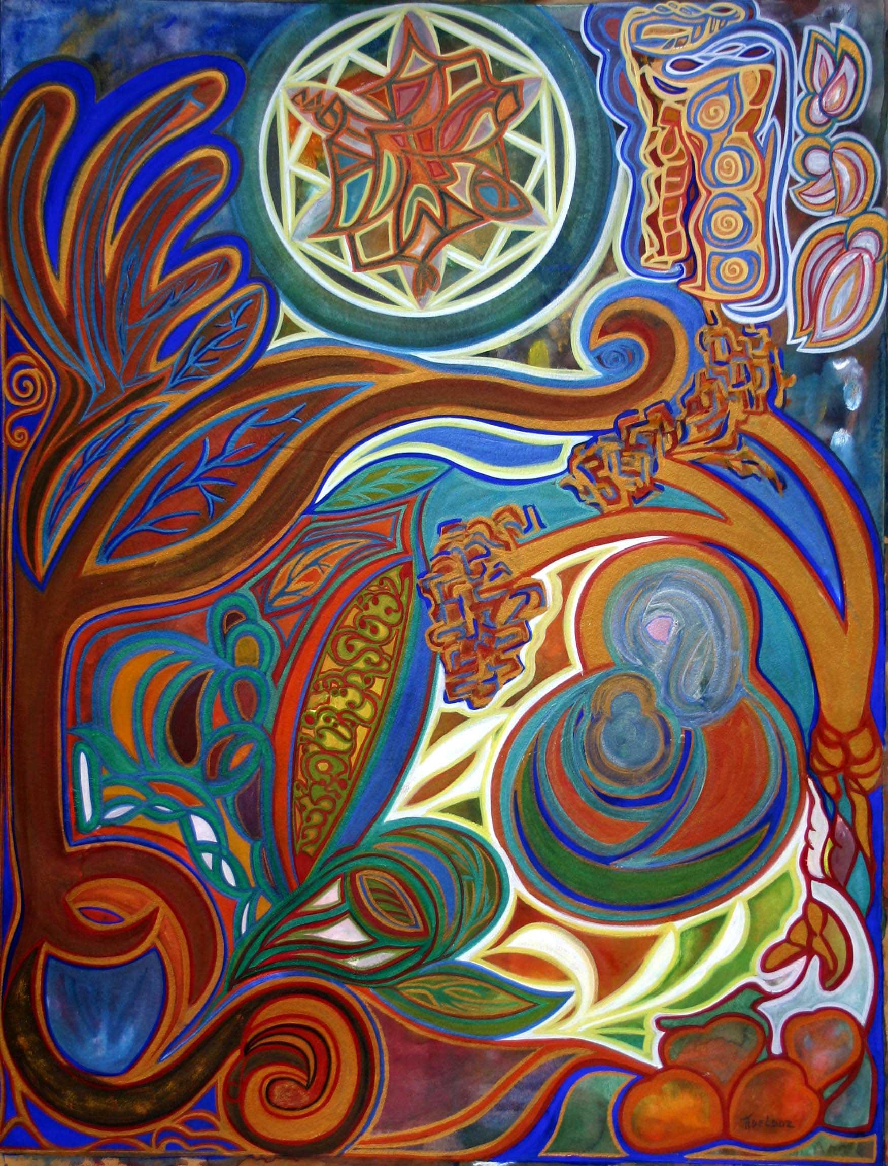 2010 La Vierge des eaux